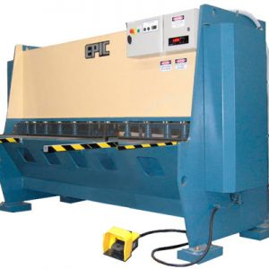 epic over-driven hydraulic guillotine